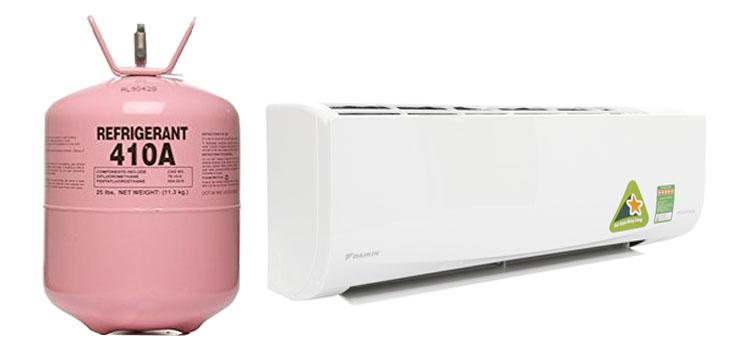 Nạp gas r 410 cho máy lạnh