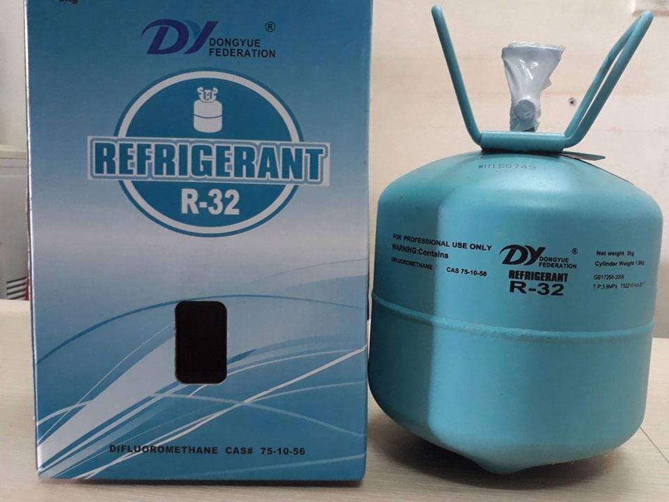 Ga R32 cho máy lạnh