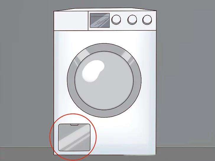 Cách vệ sinh bộ lọc cặn trong máy giặt