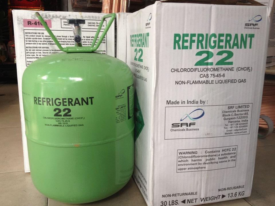 Gas R22 cho máy lạnh