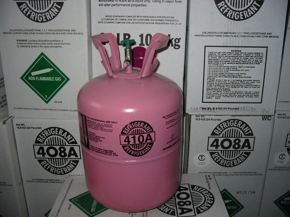 Gas R410A cho máy lạnh