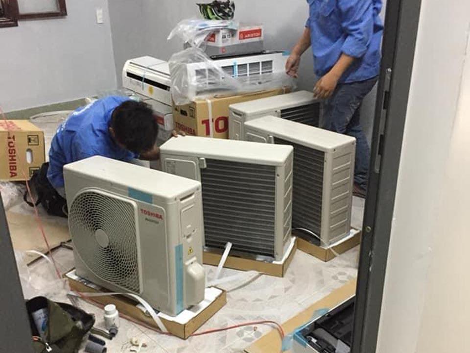 Sửa máy lạnh tại nhà ở Thủ Dầu Một