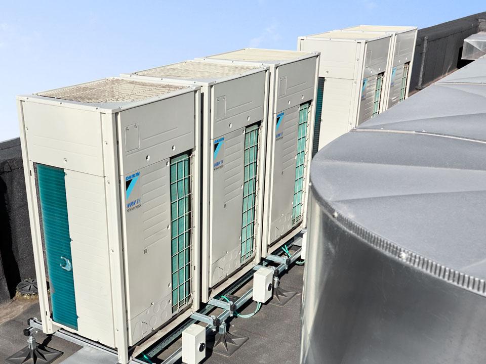 Hệ thống máy lạnh trung tâm VRV của Daikin