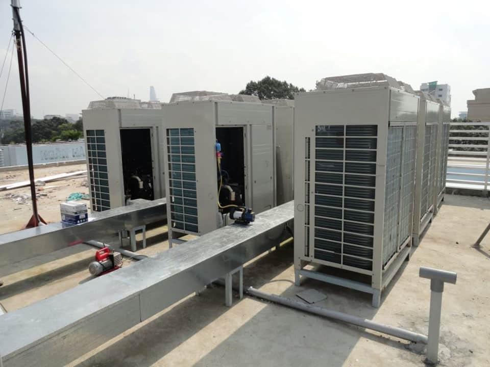 Hệ thống máy lạnh công nghiệp tại Bình Dương