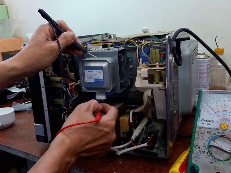 Sửa lò vi sóng ở Thủ Đức