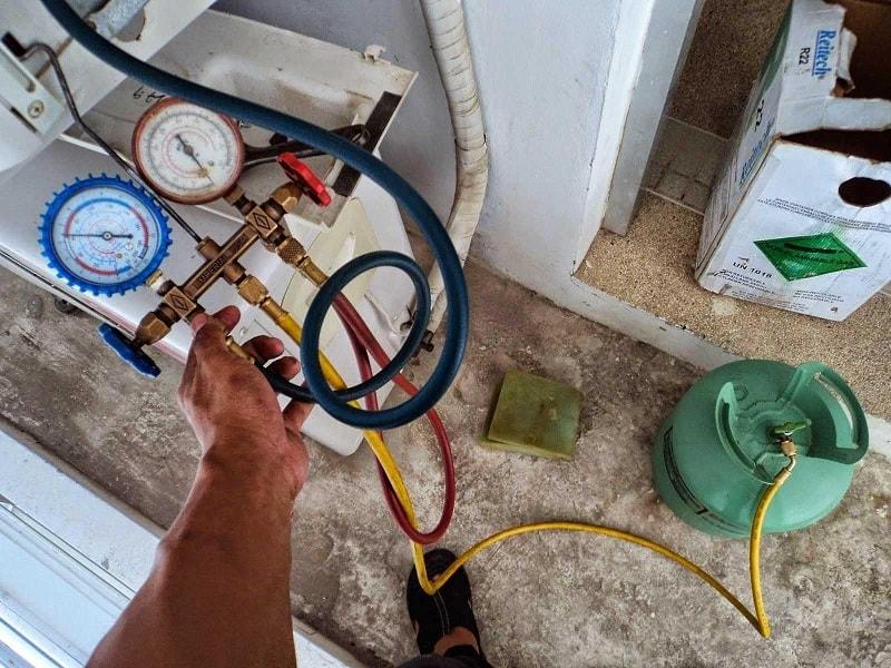 bơm gas máy lạnh giá rẻ và đúng kỹ thuật tại Thủ Đức
